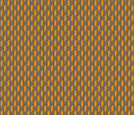 tangerine walls grey fabric by zev_nz on Spoonflower - custom fabric