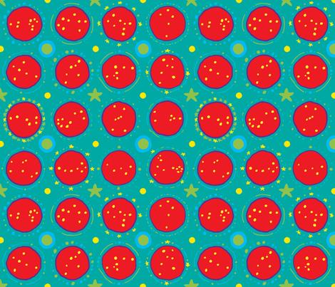 Pop Stars fabric by vetmari on Spoonflower - custom fabric