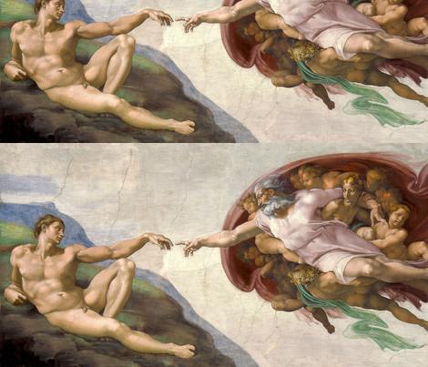 Creation of Adam (1512) - Michelangelo