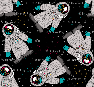 Spacemen with Constellations