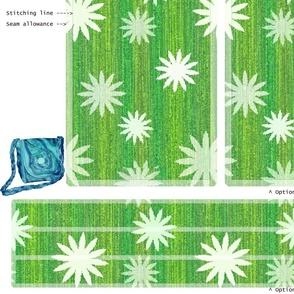 DIY Handbag - spring green