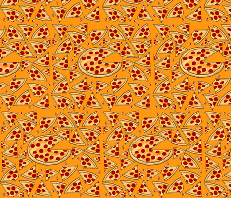 Pizza Pie fabric by fk on Spoonflower - custom fabric