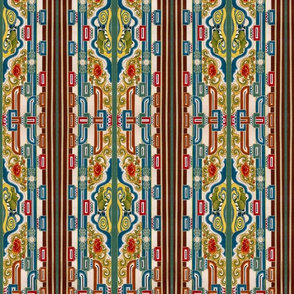 oriental stripes