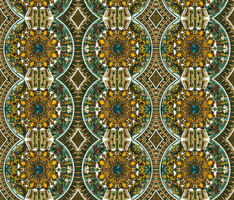 Vintage Ornament fabric by whimzwhirled on Spoonflower - custom fabric