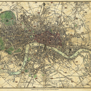1820 London Map
