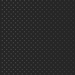 Ombre tiny polka hearts border print