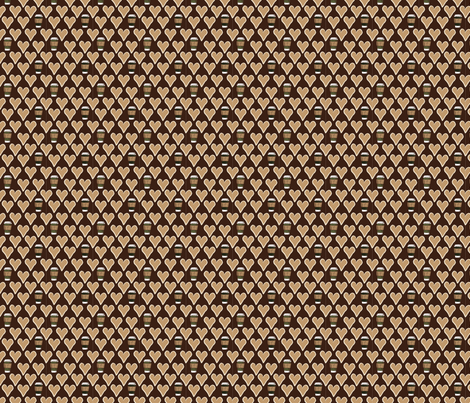 I Love a Latte fabric by thejoyofdesign on Spoonflower - custom fabric
