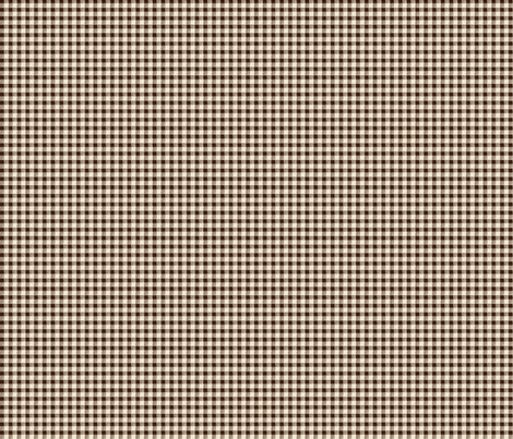Brown Gingham fabric by jolenebalyeatdesigns on Spoonflower - custom fabric