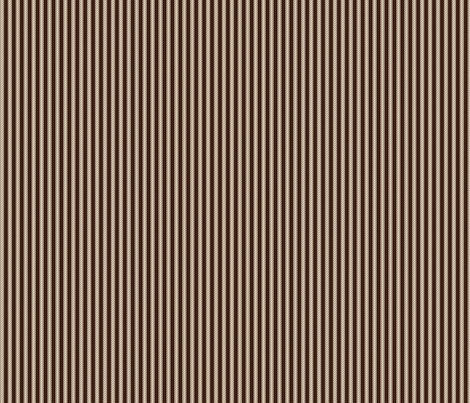 Swiss Mocha Ticking fabric by thejoyofdesign on Spoonflower - custom fabric