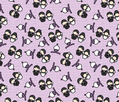 Mawidge fabric by studiofibonacci on Spoonflower - custom fabric