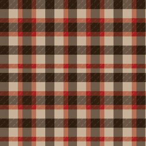 Cocoa Plaid