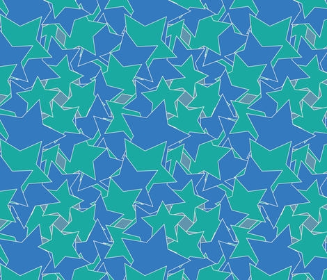 starry fabric by infinity on Spoonflower - custom fabric