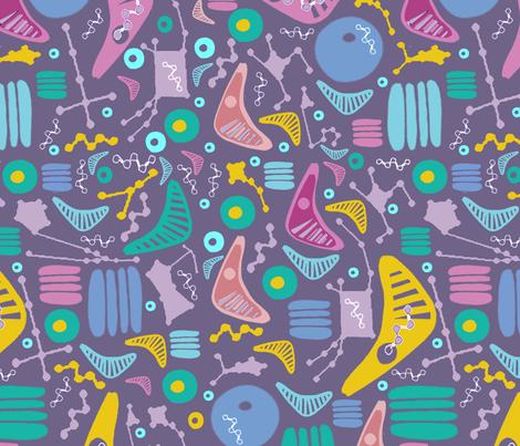 Atomic Constellations fabric by slumbermonkey on Spoonflower - custom fabric