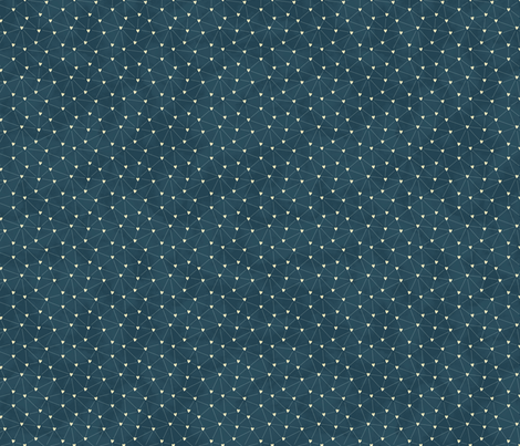 Heart_Constellations fabric by everdawn on Spoonflower - custom fabric