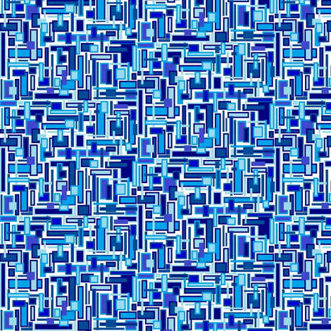 Jazzy_Blues fabric by skcreations,_llc on Spoonflower - custom fabric