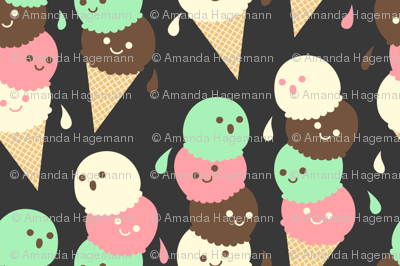 Ice Cream Social - Small Slate