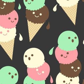 Ice Cream Social - Large Slate