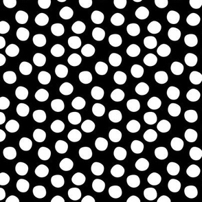 Scatter Dot - Black & White