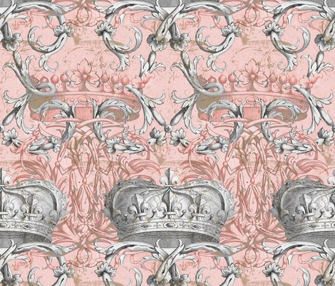 Rcrown_damask_ii___la_dauphine___gilt_and_silvered_shop_preview