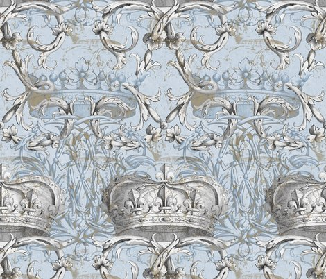 Rcrown_damask_ii___le_dauphin___gilt_and_silvered_shop_preview