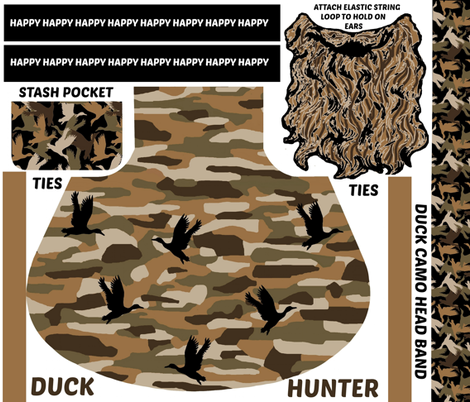 Duck Hunter fabric by paragonstudios on Spoonflower - custom fabric
