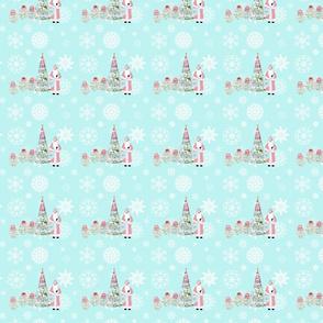 Babushka Snow and Father Christmas small