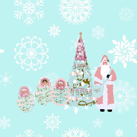 Babushka Snow and Father Christmas