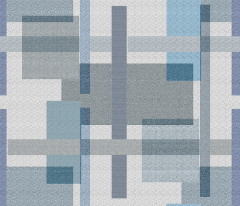 Cool Rectangles fabric by anniedeb on Spoonflower - custom fabric