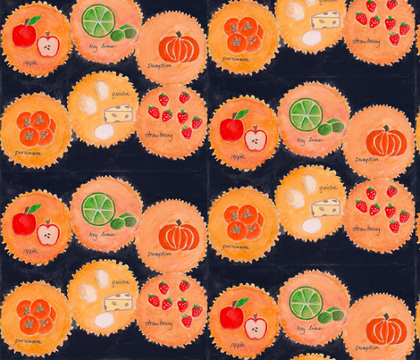 6pies-1 fabric by timaroo on Spoonflower - custom fabric