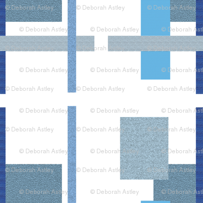 Parking Lots in Blue and Gray