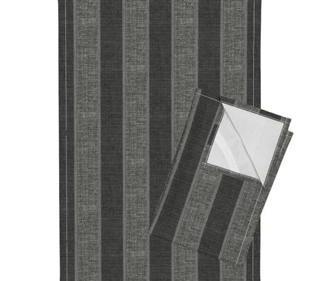 London Fog corded stripe - charcoal