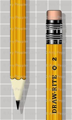 No. 2 Pencil* (Silkscreen)
