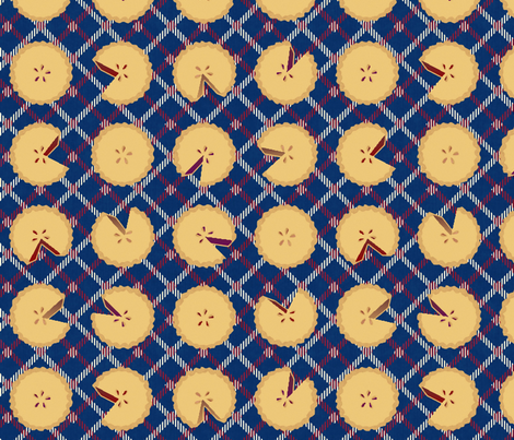 American Pie Plaid fabric by glimmericks on Spoonflower - custom fabric