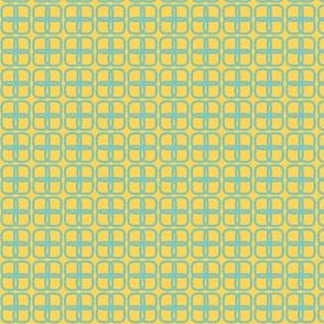 4knots.Aqua-Yellow