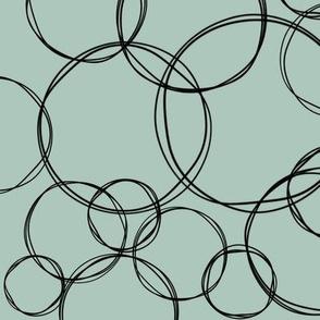 Doodled Circles 6