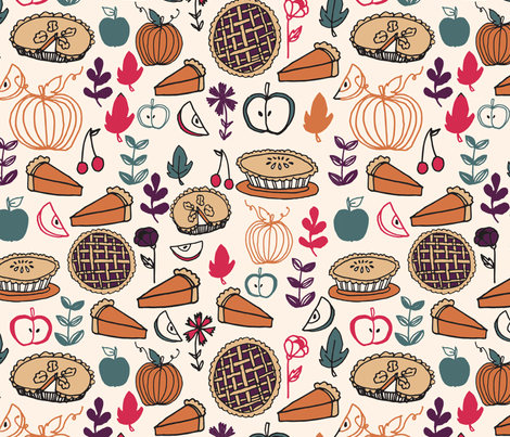 Pie Contest fabric by andrea_lauren on Spoonflower - custom fabric