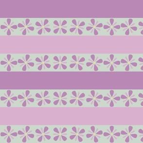 Minimalist Violets