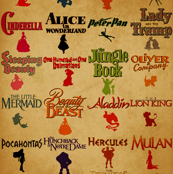 Retro Disney Childhood Movies