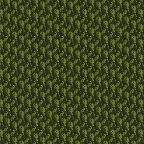 Arabesque Leaf - Green