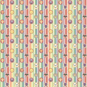 Zoo Pattern Stripes