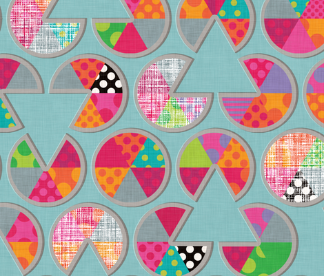 Sweetie Pie fabric by spellstone on Spoonflower - custom fabric