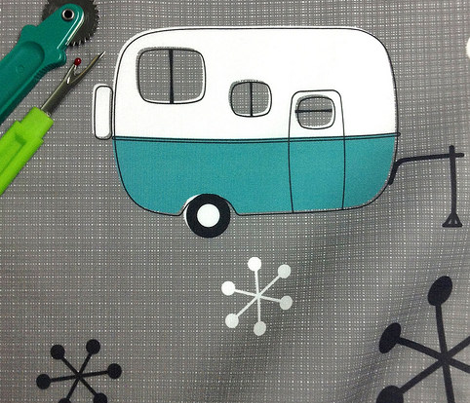 Julie's Campers Turquoise/ch