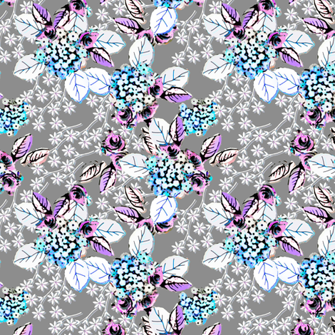 Vintage Verbena  fabric by joanmclemore on Spoonflower - custom fabric