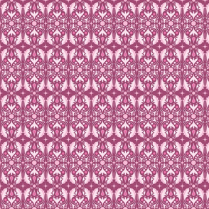 Abstract Leaves - Magenta
