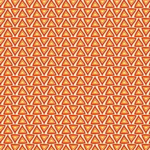Orange Red Triangles