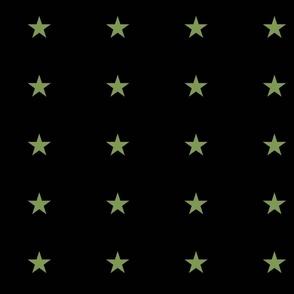 Subdued flag stars