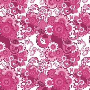 Paisley Plus Daisy (Pink)