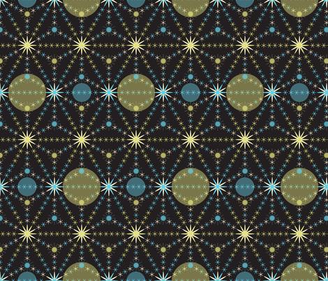 Celestial fabric by paula's_designs on Spoonflower - custom fabric