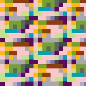 pixel color study