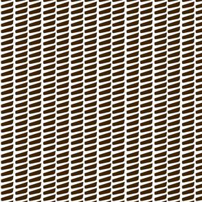 Long Dash—Brown